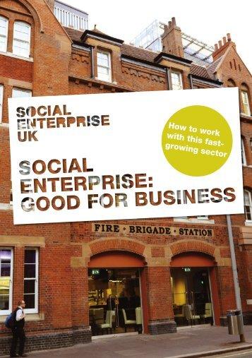 Download our brochure - Social Enterprise UK