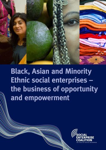 Black, Asian and Minority Ethnic social enterprises - Canterbury City ...