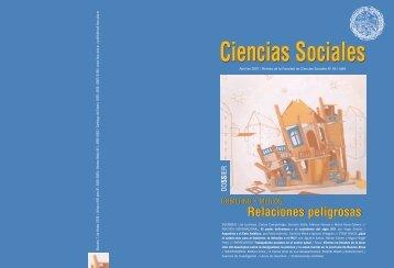 TAPA 66 NUEVA.qxd - Facultad de Ciencias Sociales - Universidad ...