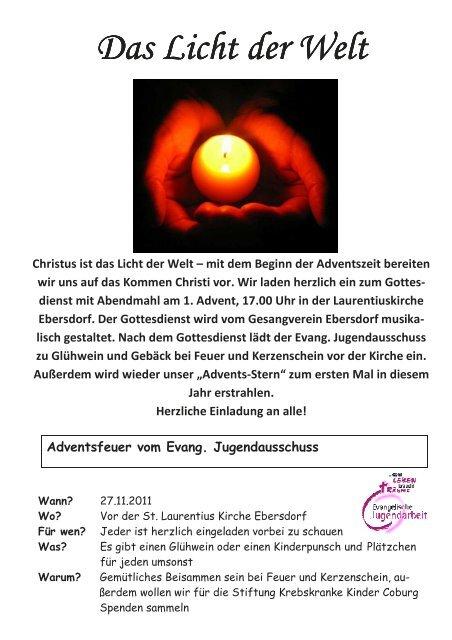 Winter 2011.pub - Evangelische Kirchengemeinde St. Laurentius ...
