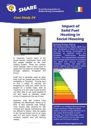 Impact of solid fuel heating in social housing - SHARE - Social ...