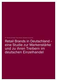 Retail Brands in Deutschland – eine Studie zur ... - Batten & Company