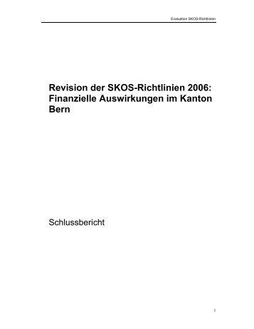 Bericht Evaluation SKOS Richtlinien finale Version - Socialia