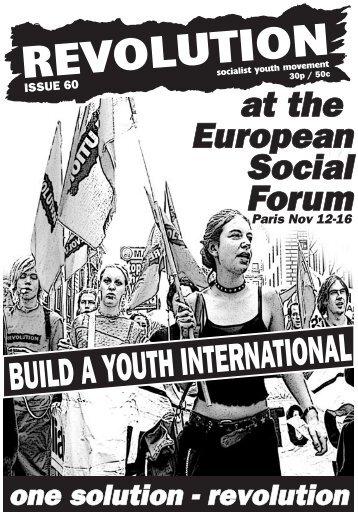 Revolution Magazine 60 - Revolution Socialist Youth
