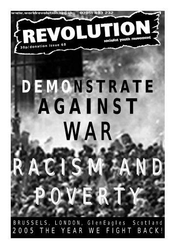 DEMONSTRATE - Revolution Socialist Youth