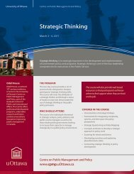 Strategic Thinking - Faculty of Social Sciences