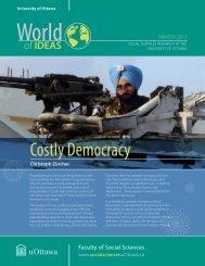 Costly Democracy - Faculty of Social Sciences