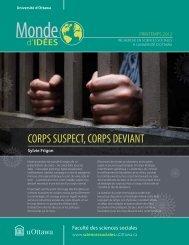 corps suspect, corps deviant - Faculty of Social Sciences - Université ...