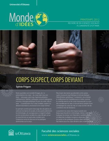 corps suspect, corps deviant - Faculty of Social Sciences - Université ...