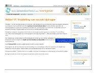 Artikel 17 - step by step (nl) v1.1.pps - Sociale Zekerheid