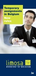 Temporary assignments in Belgium New rules