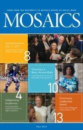 Fall 2013 issue - UB School of Social Work - University at Buffalo