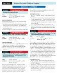 Program Evaluation Certificate Program - UB School of Social Work ... - Page 3