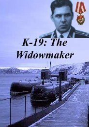 K-19 The Widowmaker - Societa italiana di storia militare