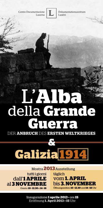 L'Alba - Trentino Grande Guerra