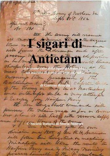 2013 9 BRECCIA I sigari di Antietam - Societa italiana di storia militare