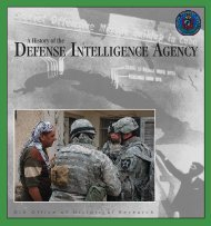 A History of the Defense Intelligence Agency - Cryptocomb