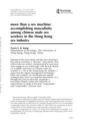 Downloaded - Department of Sociology - The University of Hong Kong