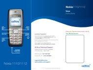 Nokia 1110/1112 - Cellhire