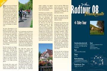 4-Täler-Tour - Landkreis Nürnberger Land