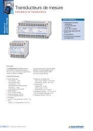 Page catalogue - Socomec