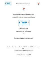 provozování cestovní agentury - Svaz obchodu a cestovního ruchu ČR