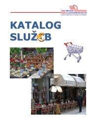 KATALOG SLUŽ B - Svaz obchodu a cestovního ruchu ČR