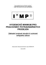 300377010 - OP - Hygienické minimum