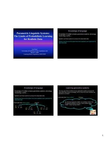 presentation - University of California, Irvine