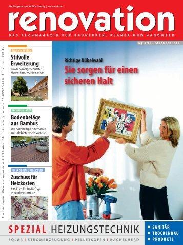 SPEZIAL HEIZUNGSTECHNIK - bauweb.co.at