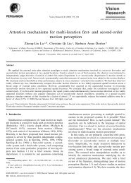 Attention mechanisms for multi-location first- and second ... - Lobes