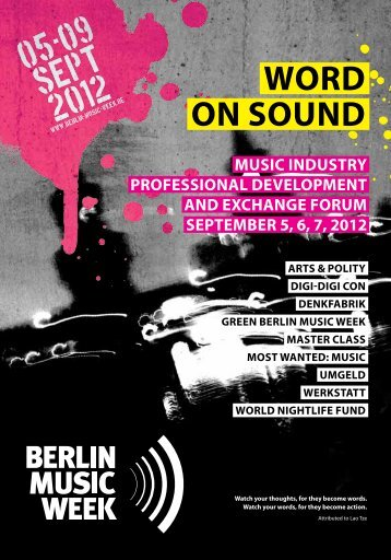 kosom - Berlin Music Week