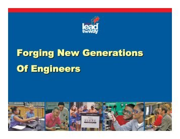 Project Lead the Way: Forging New Generations of Engineers