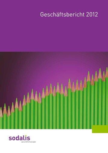 Geschäftsbericht 2012 - Sodalis Krankenversicherer