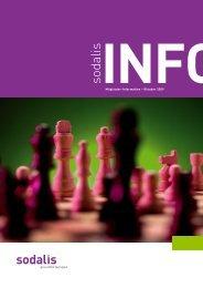 Mitgliederinfo Oktober 2009 - Sodalis Krankenversicherer
