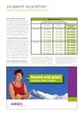 Mitgliederinfo Oktober 2011 - Sodalis Krankenversicherer - Seite 3