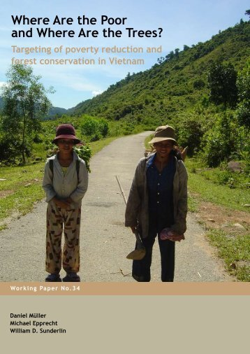 Where are the poor and where are the trees?: targeting of ... - CIFOR