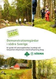 Demonstrationsgårdar i södra Sverige Demonstrationsgårdar i ...