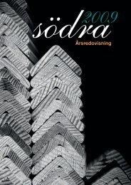 Södras årsredovisning 2009