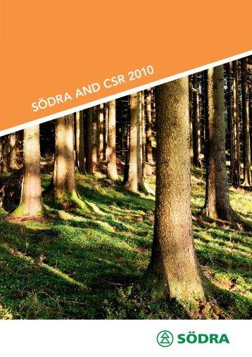 SÖDRA AND CSR 2010