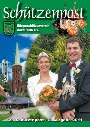 49. Schützenpost · 2. Ausgabe 2011 - Bürgerschützenverein Hövel ...