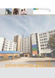 Jahresbericht 2010 -  BFW Koblenz