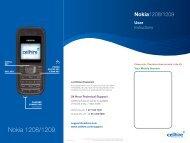 Nokia 1208/1209 - Cellhire