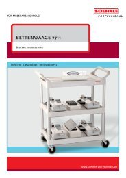 BETTENWAAGE 7711 - Soehnle Professional