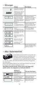 CWE 7745 / CWB 7726 - Soehnle Professional - Page 6