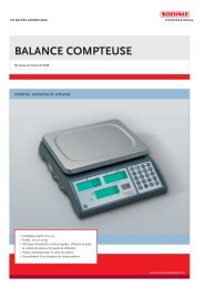 9220 Francais - Soehnle Professional