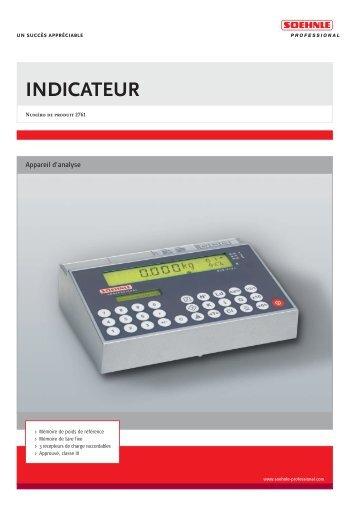 2761 Francais - Soehnle Professional
