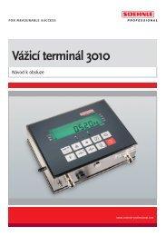 Vážicí terminál 3010 - Soehnle Professional