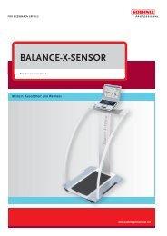 BALANCE-X-SENSOR - Soehnle Professional