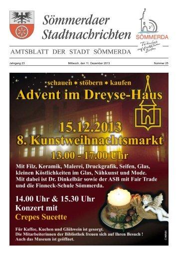 Amtsblatt Nr. 25 vom 11.12.2013 - Sömmerda